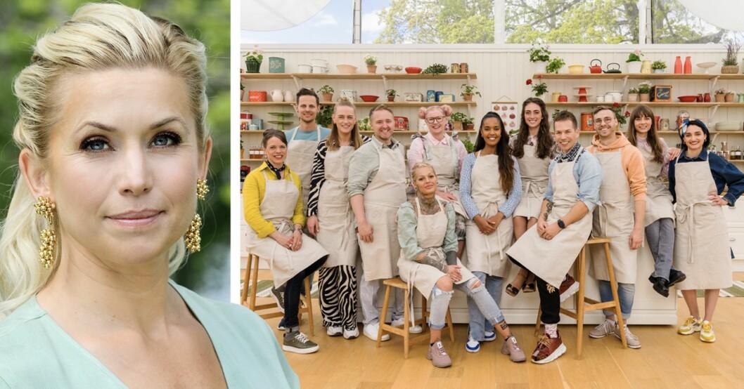 Tina Nordström och alla deltagare i Hela Sverige bakar 2021