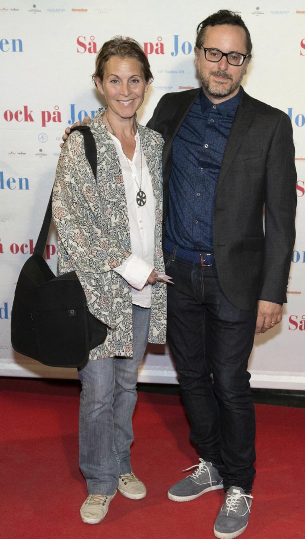 Helen Sjöholm och David Granditsky