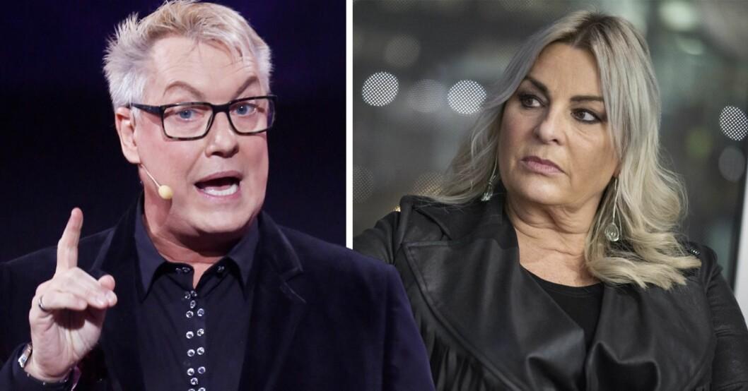 "Storbråk mellan Lars-Åke ""Babsan"" Wilhelmson och Helena Hysén"