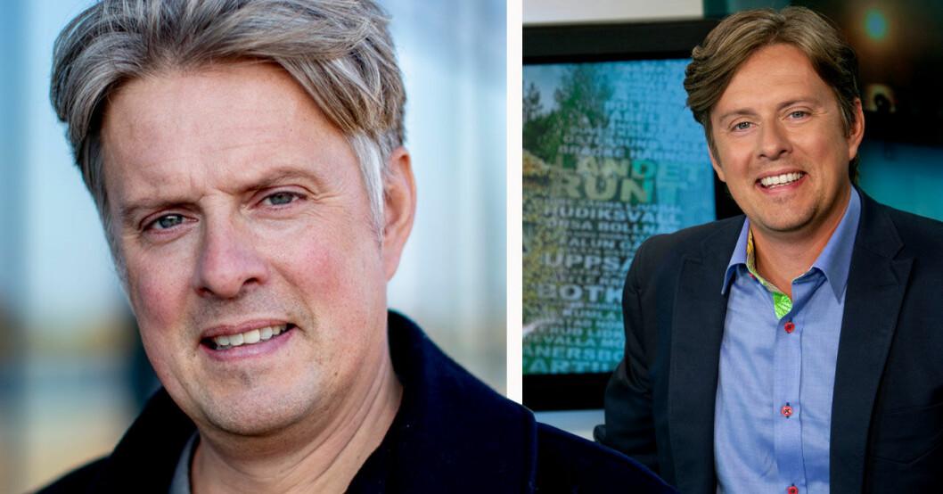 Henrik Kruusval programledare SVT:s Landet runt