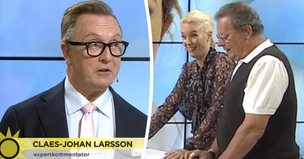 Hovexpertens känga till Jenny Strömstedt i Nyhetsmorgon på TV4 efter frågan om prinsessan Madeleines föräldraskap.