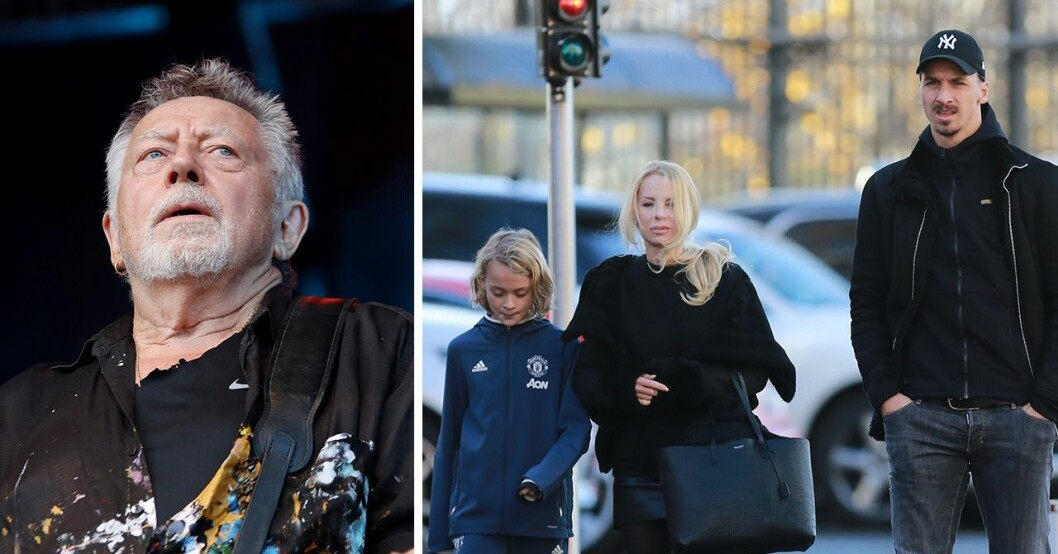 Ulf Lundell, Helena Seger, Zlatan Ibrahimovic.