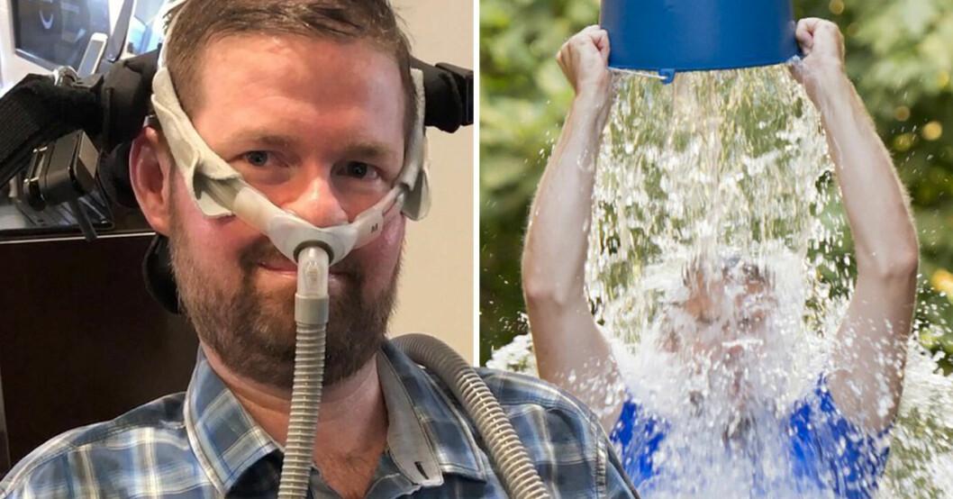 Patrick Quinn var mannen bakom Ice bucket challenge.
