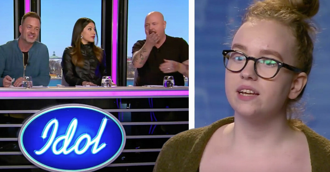Tittarna är arga på Idol-juryns ord till Izadora