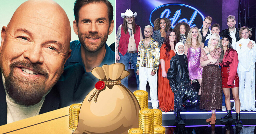 Idol-deltagarna och juryn 2021.