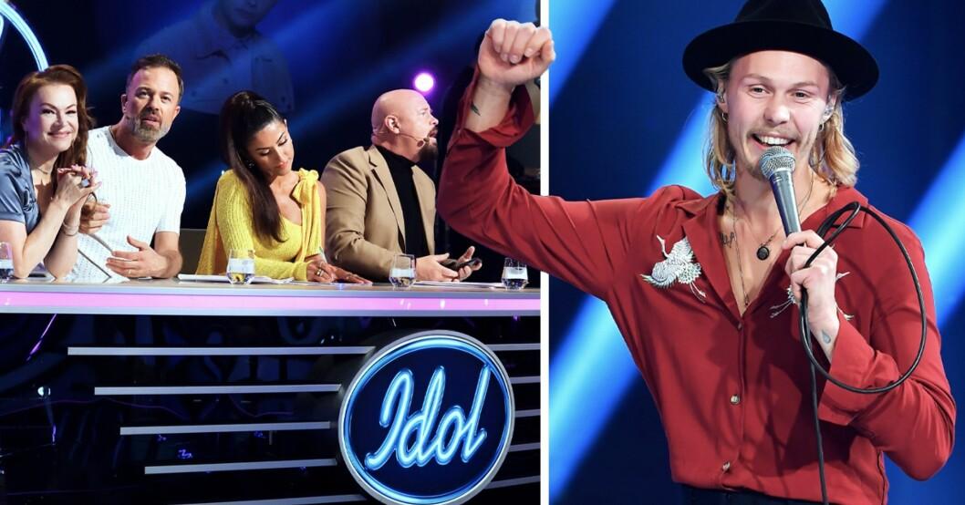 Idol 2020 Juryn och Caspar Camitz