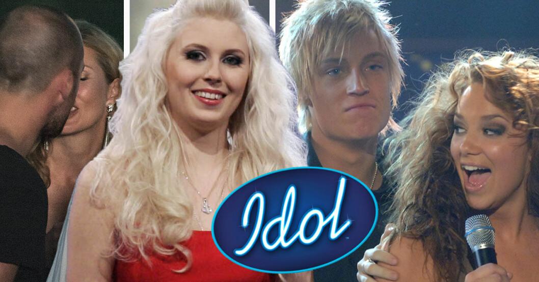 Sebastian Karlsson, Amanda Jenssen, Ola Svensson och Agnes Carlsson blev publikfavoriter i Idol.