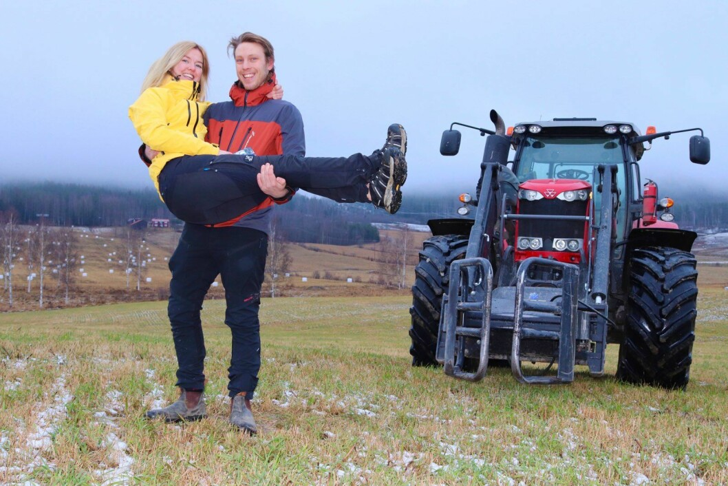 Bonde söker fru-Pelle Hansson Edh och Karin Nordström.