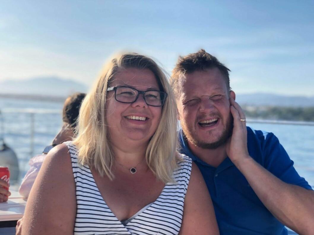Jenny och Michael Björklund i Robinson 2020