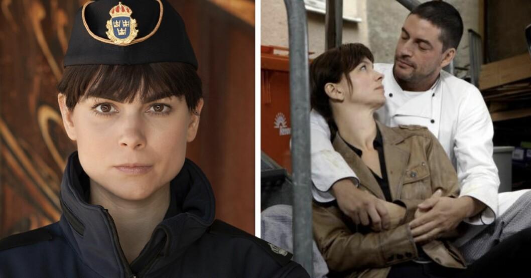 Irene Huss make Krister saknas i nya Huss-filmerna