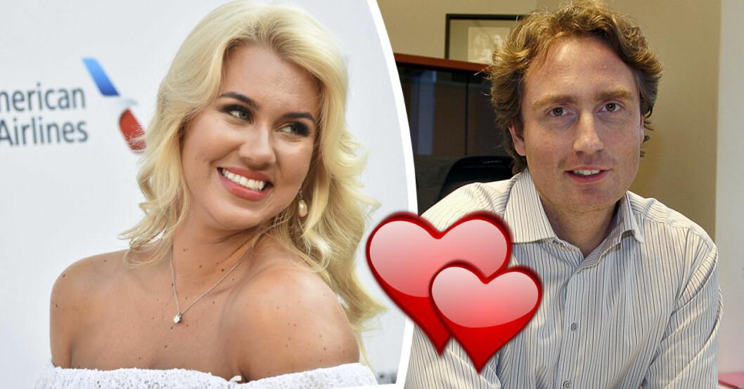 Isabella Löwengrip bekräftar relationen med 51-årige miljardären Erik Selin.