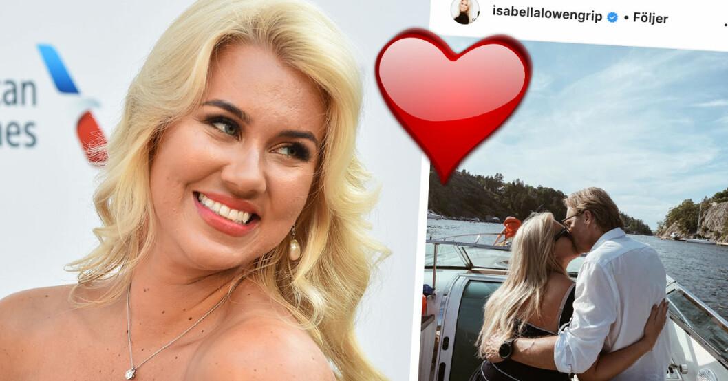 Isabella Löwengrip visar upp nya kärleken Paul