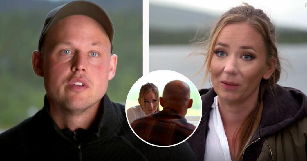 Isabelle lämnar Jimmy Olofsson i Bonde söker fru 2019