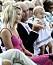 Tarja Stenmark, Ingemar Stenmark och Iza på kronprinsessan Victorias födelsedag