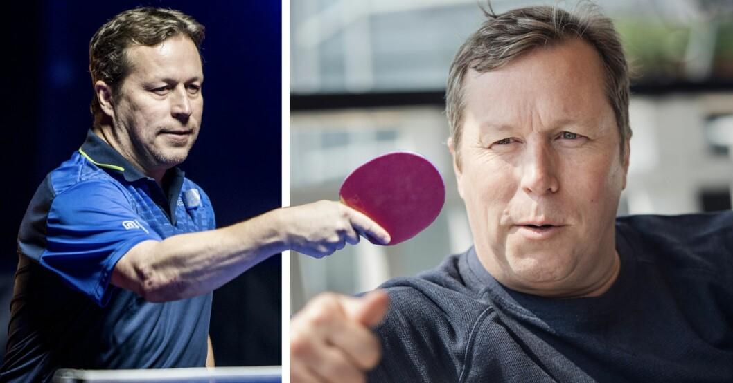Jan-Ove Waldner spelar pingis