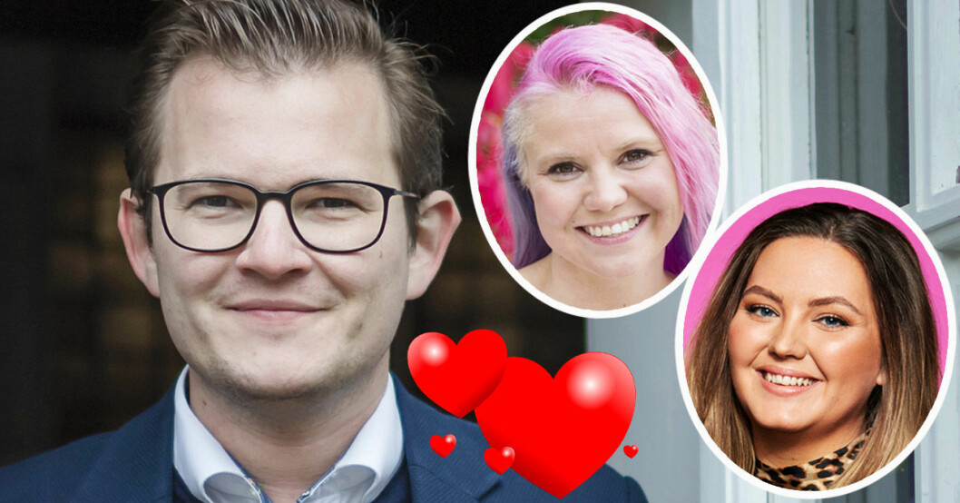 Jacob Claesson, Elina Raeder och Amilia Stapelfeldt.