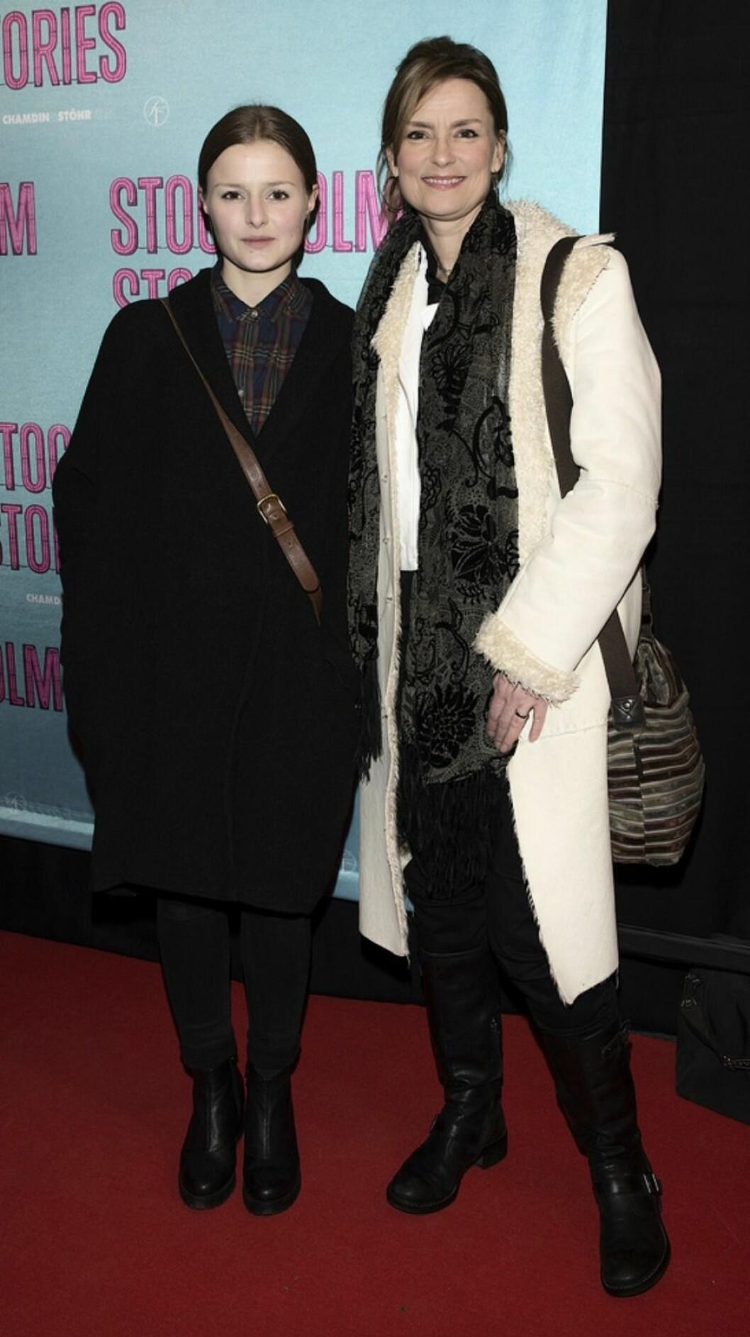 Klara Eklund och Marie Richardsson på event