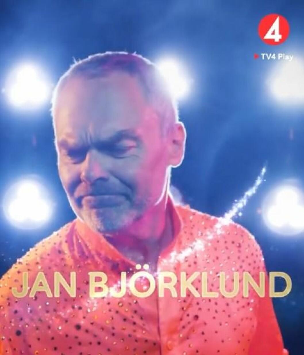 Jan Björklund deltar i Lets dance 2020.
