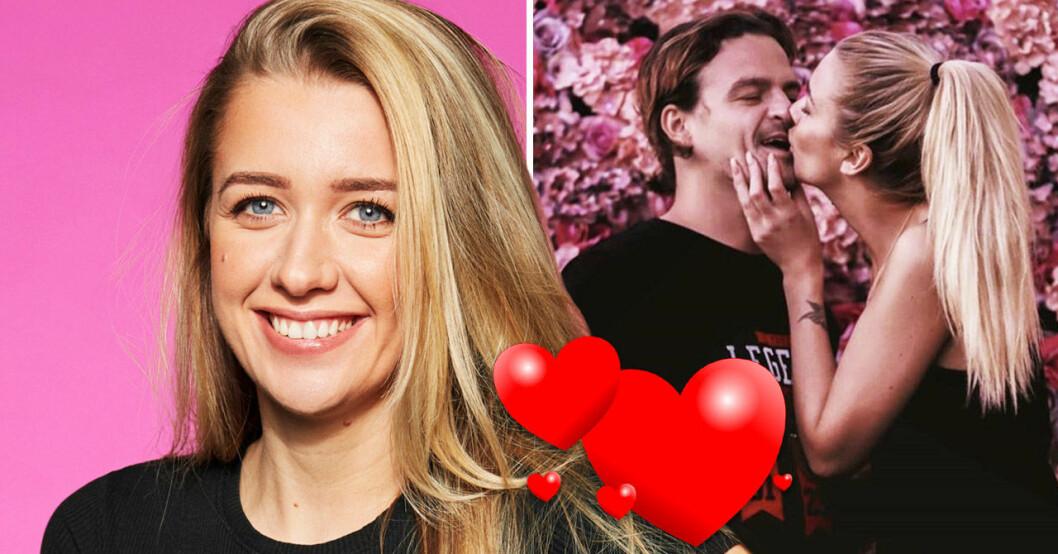 Jasmine Armstrong och Martin Forstén från Big Brother 2020.