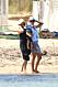 Prinsessan Sofia och madeleine på stranden i Saint Tropez.