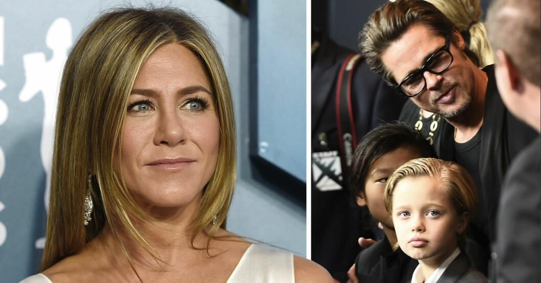 Jennifer Anistons relation med Brad Pitts dotter Shilouh