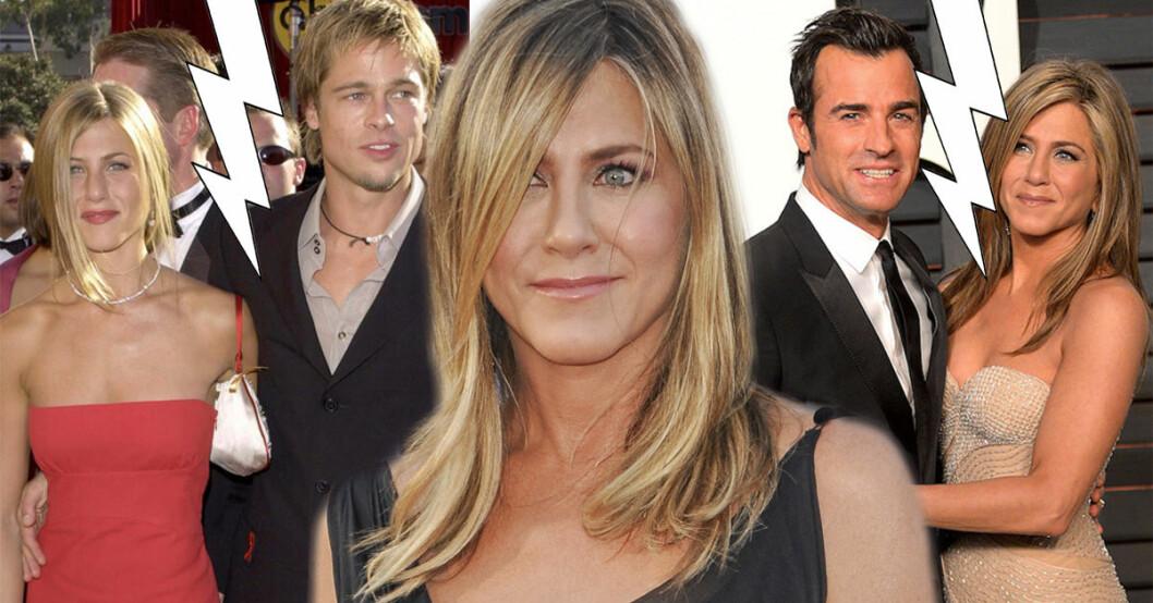 Jennifer Aniston funderar på att skriva en biografi där hon berättar allt om skilsmässorna från Brad Pitt och Justin Theroux.