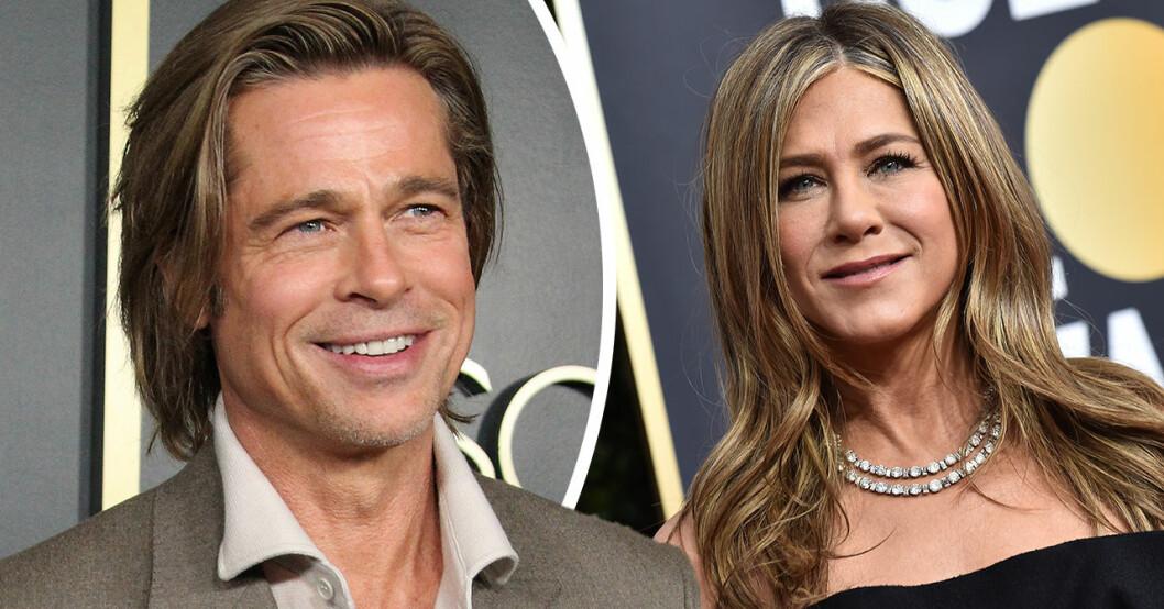 Brad Pitt avslöjar sanningen om återföreningen med Jennifer Aniston