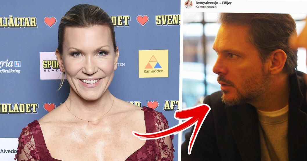 Jenny Alversjö kärlek pojkvän Anders