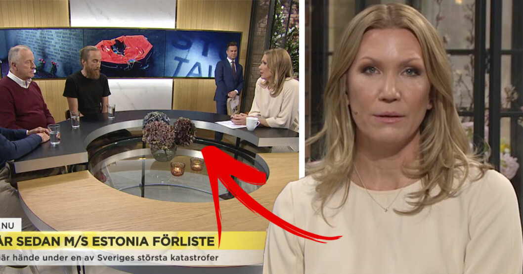 Tittarna rasar efter Jenny Alversjös intervjun i Nyhetsmorgon om Estonia.