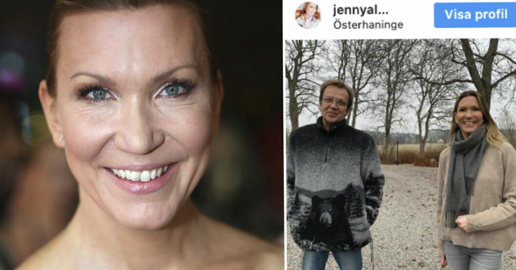 Jenny Alversjö och Björn Skifs