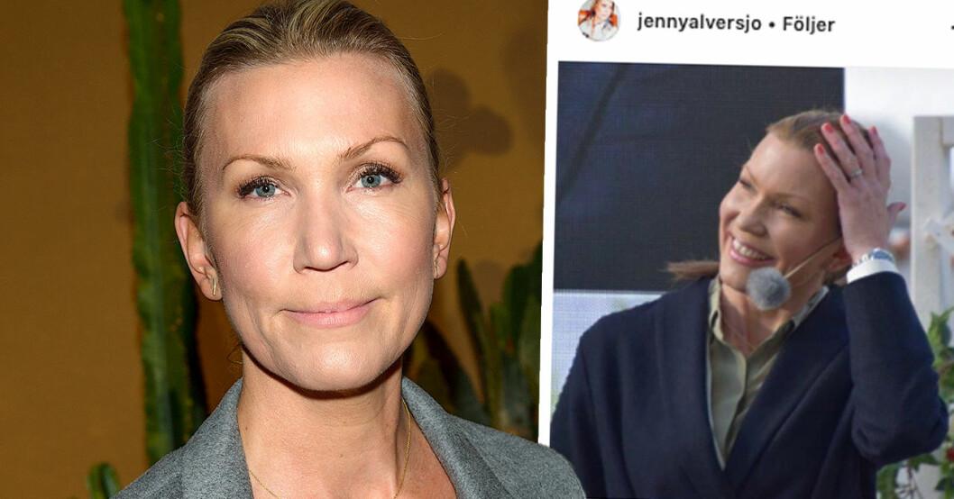 TV4:s Jenny Alversjö drabbad av stroke – berättar själv om händelsen