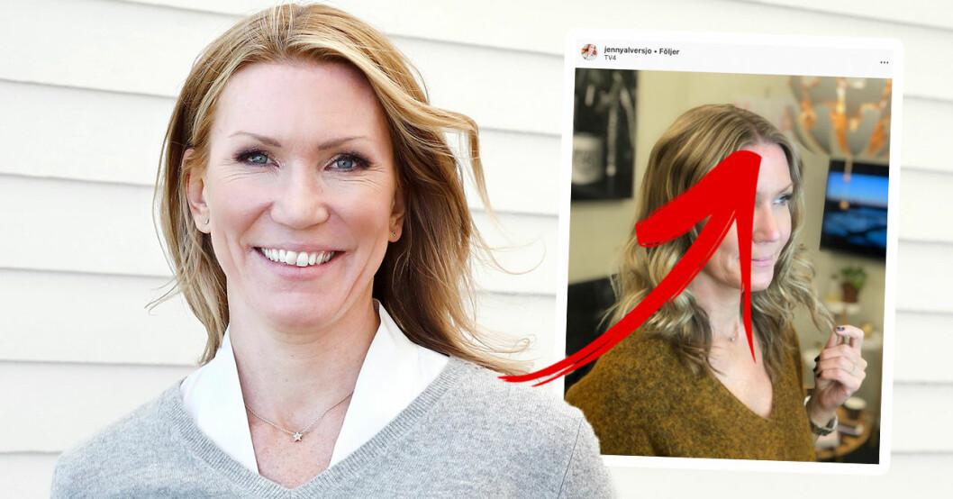 Jenny Alversjös förändring hyllas av TV4-tittarna