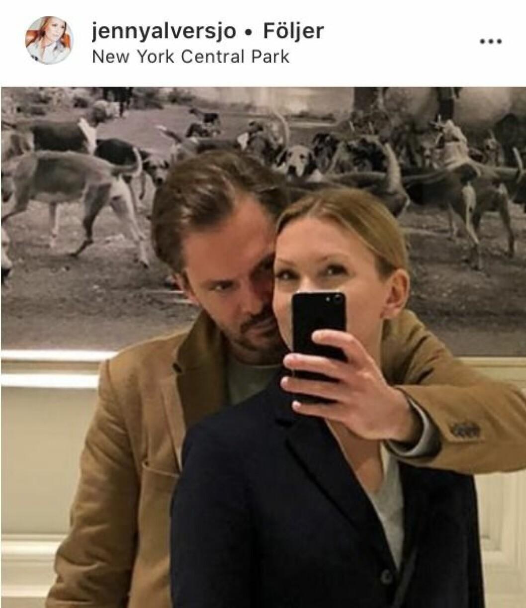 Jenny Alversjös nya pojkvän Anders