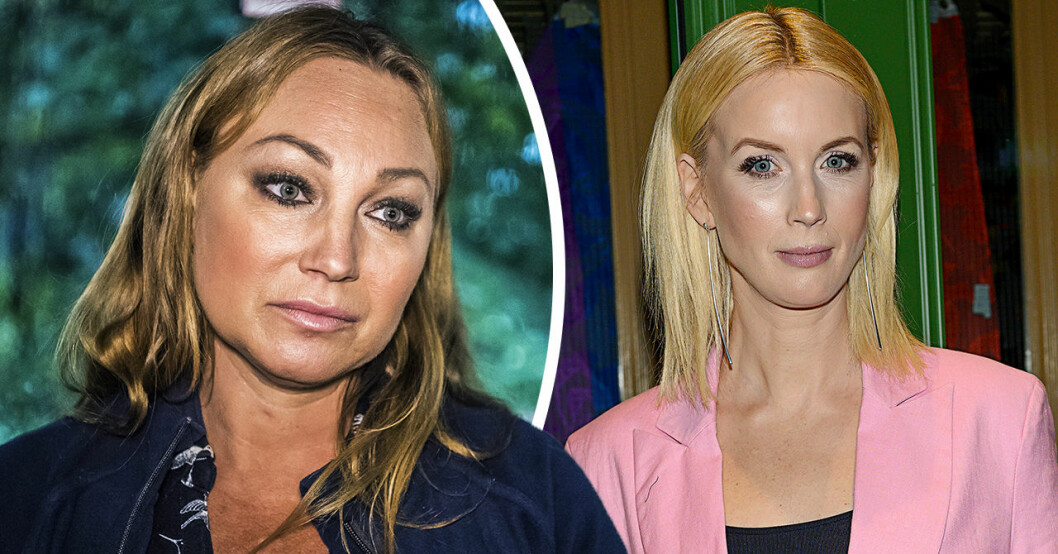 Charlotte Perrellis tårar efter mötet med Jenny Strömstedt