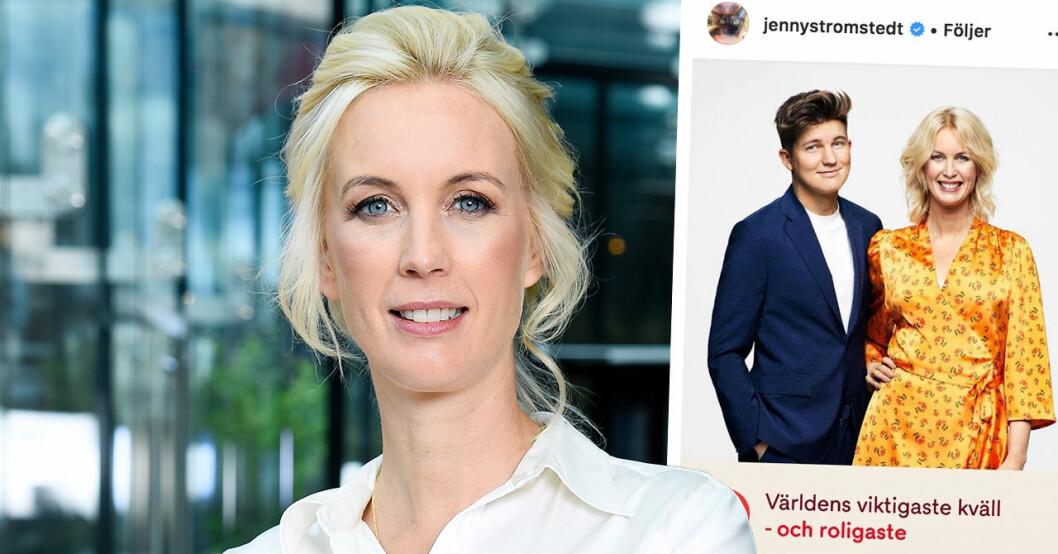 Daniel Noberg och Jenny strömstedt leder TV4-galan