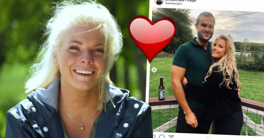 Jenny Freeds nya ord om relationen med fästmannen Robin