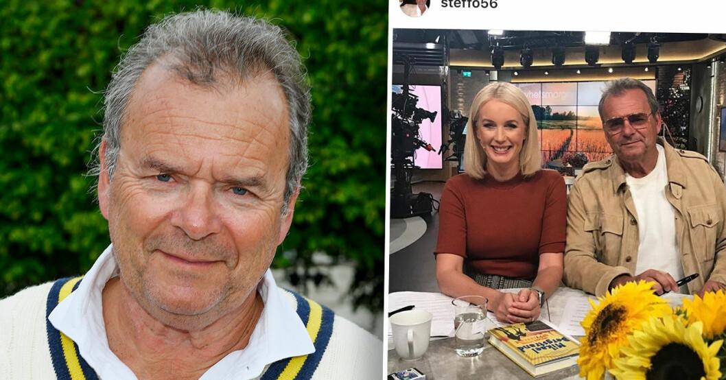 Jenny och Steffo i Nyhetsmorgon på TV4