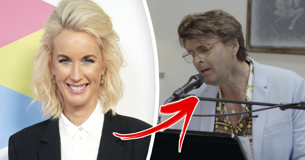 Jenny Strömstedts svar efter Niklas Strömstedts kärlekshyllning i Så mycket bättre på TV4.