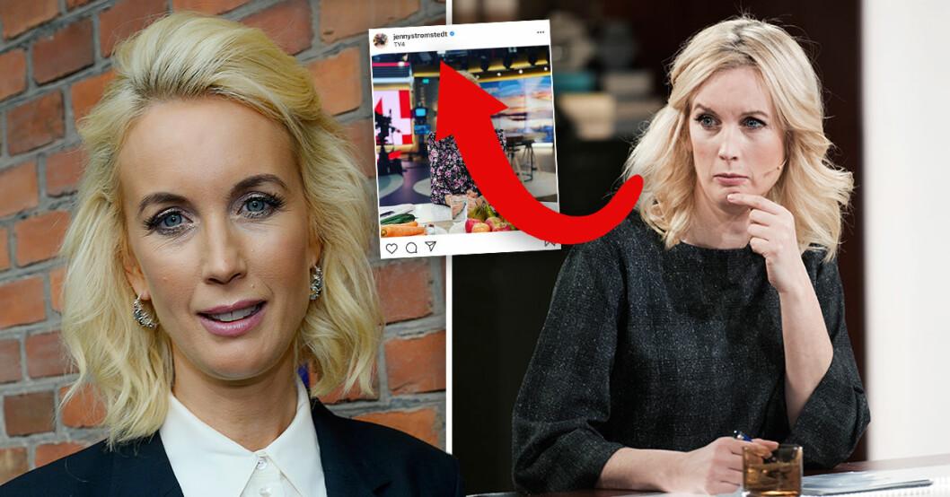 Jenny Strömstedt Nyhetsmorgon