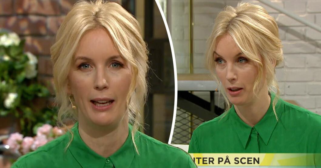 Jenny Strömstedt i Nyhetsmorgon på TV4