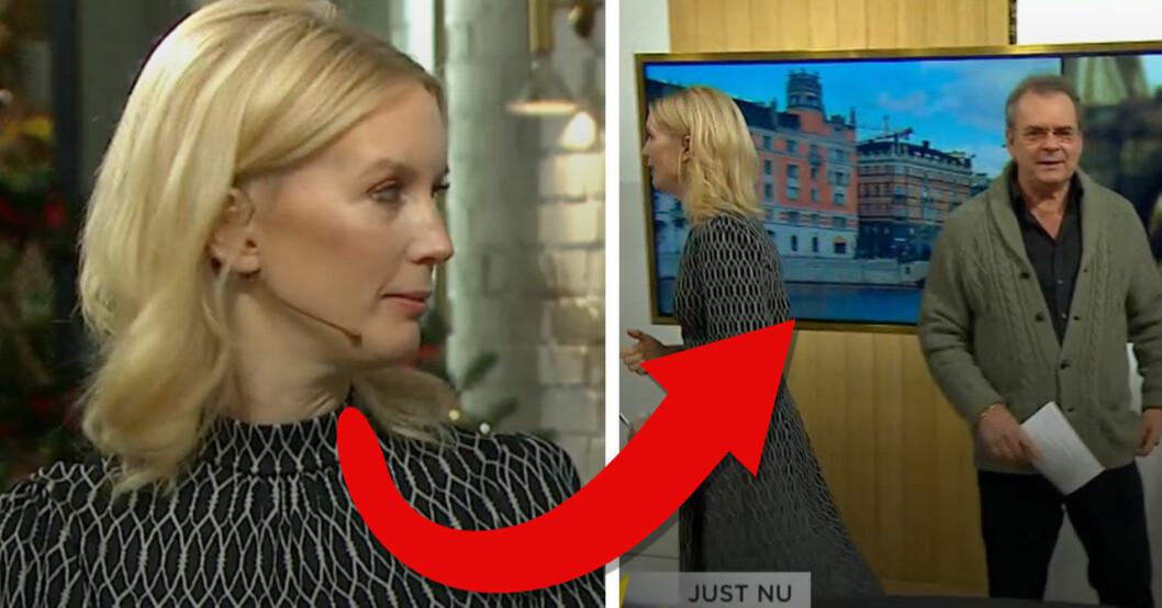 Jenny Strömstedt och Steffo Törnquist bråkar om rökförbudet i Nyhetsmorgon