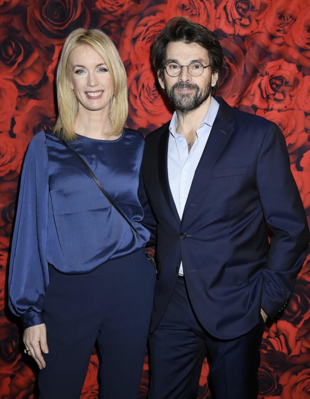 Jenny och Niklas Strömstedt på röda mattan