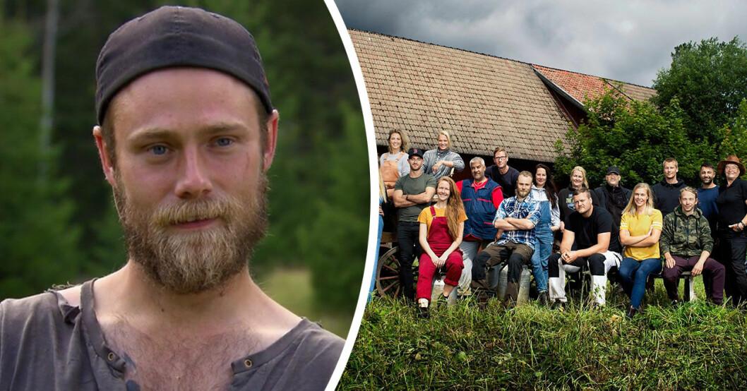 Jens Rönnqvist om okända relationen till deltagarna i Farmen