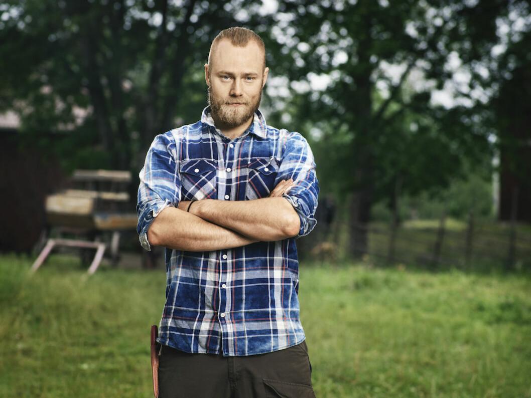 Farmen-deltagaren Jens Rönnqvist har tränat för att vara med i Farmen.
