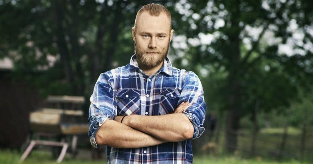 Jens Rönnqvist i Farmen 2020.