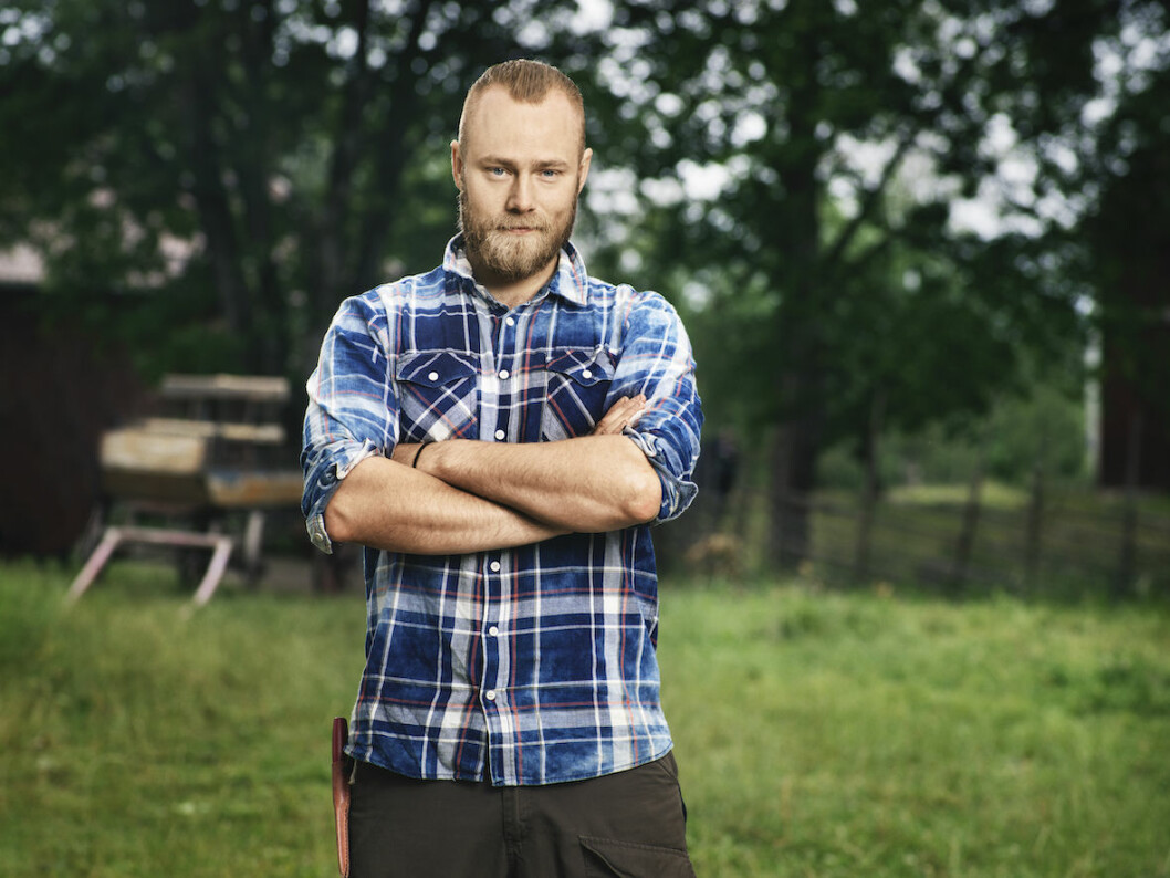Jens Rönnqvist fick lämna Farmen efter många veckors tävlan.