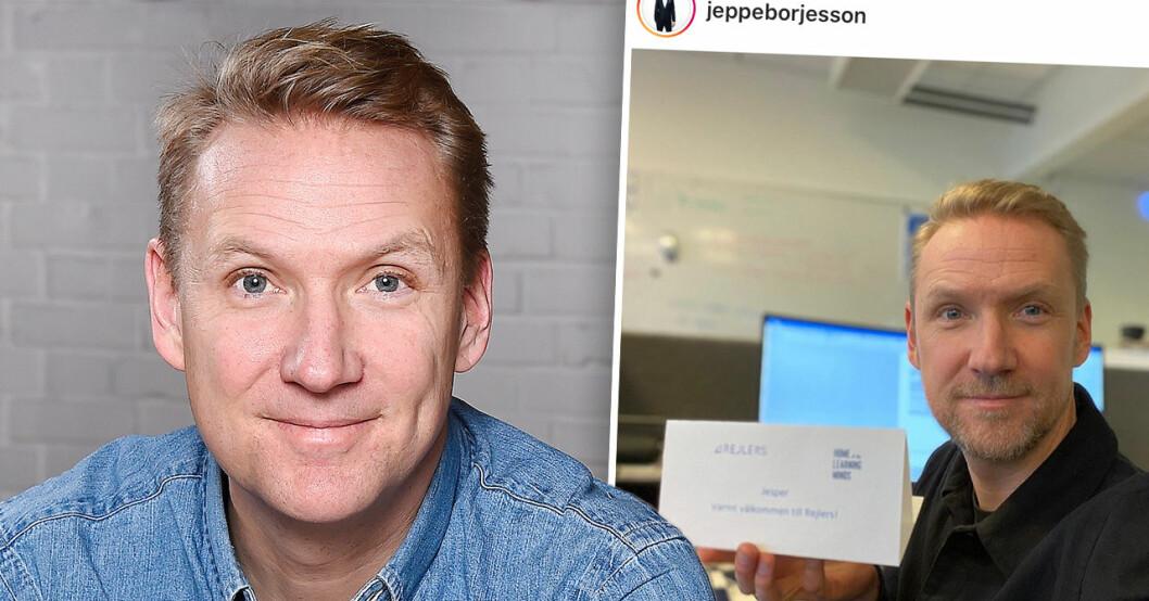 Jesper Börjessons besked efter Nyhetsmorgon