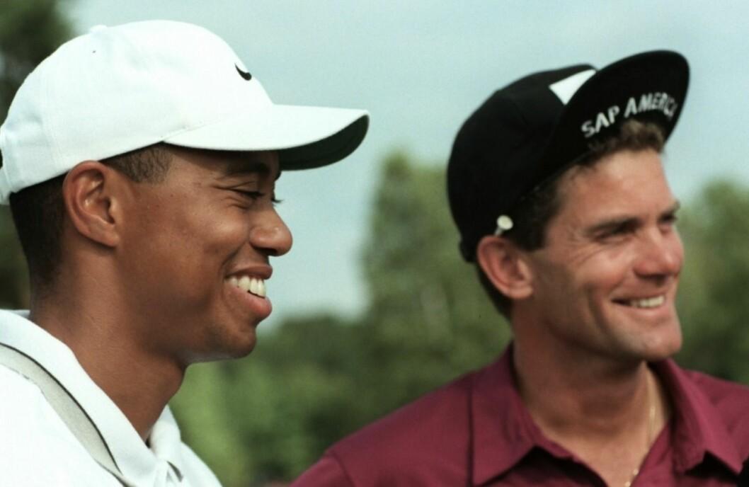 Good old days med Tiger Woods och Jesper Parnevik