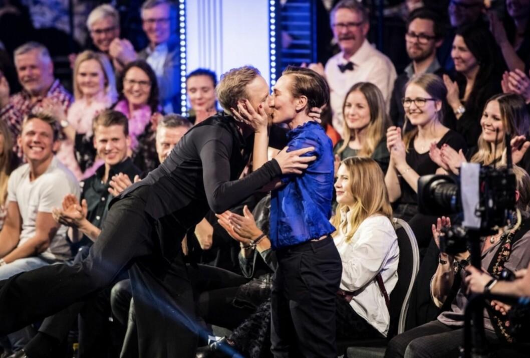 Gustaf Hammarsten och hans sambo Jessica Liedberg, Let's Dance,