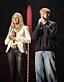 Jessica Andersson på scen tillsammans med sonen Liam Erixon